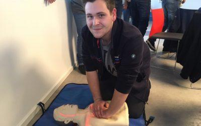 Erste Hilfe bei der Stamos GmbH